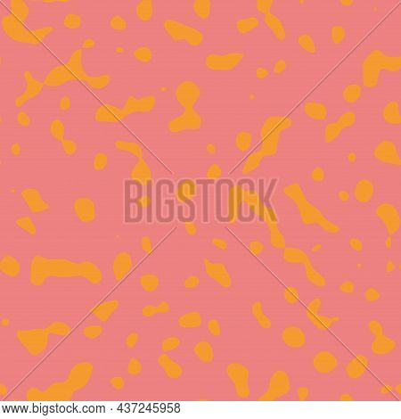 Seamless Abstract Non Print Resembling Strange Colored Animal Skin Surface Pattern Design For Print.