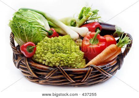 Vegetables In The Basket 2