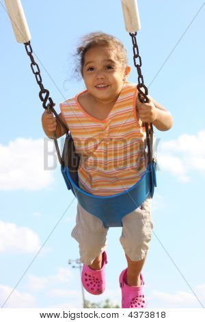 Girl Swinging