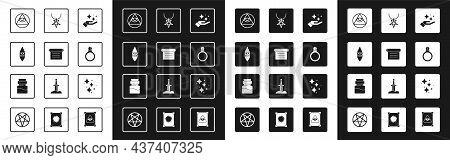 Set Sparkle Stars With Magic Trick, Ancient Book, Wizard Warlock, Masons, Magic Stone Ring Gem, Pent