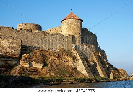 Medieval Fortress Akkerman On The Dniester Estuary