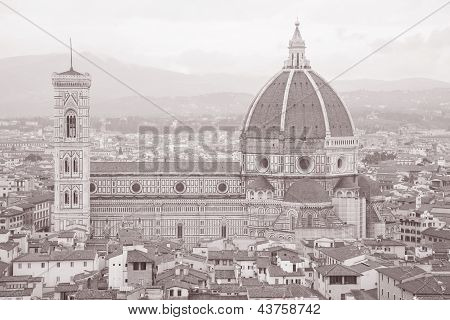 Dome Of Duomo Cathedral Church, Florence