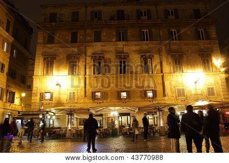 Night Life In Trastevere