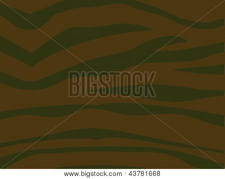 Stripey Military Combat Cloth Background - Khaki
