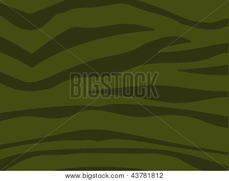 Stripey Combat Camouflage Textured Effect Background - Khaki