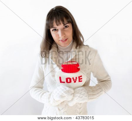 Girl With A Woolen Heart
