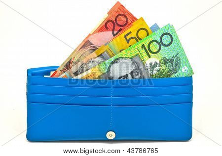 some money in wallet