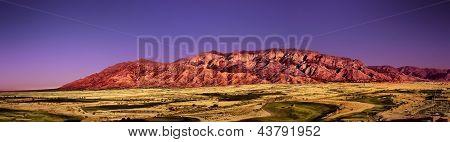 Sandia Mountains In Albuquerque Nm