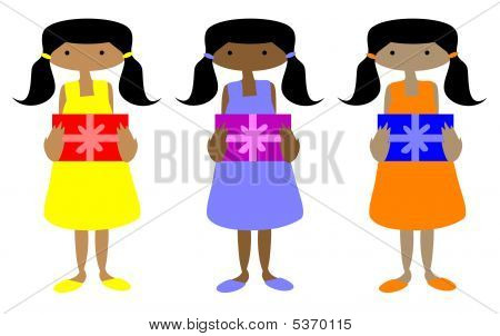 Ebony Girls With Gifts