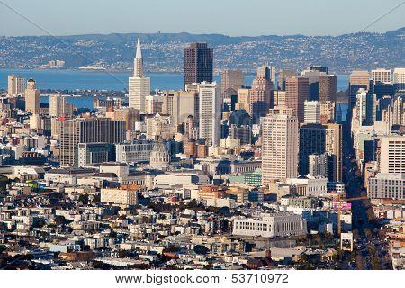 San Francisco Downtown Area