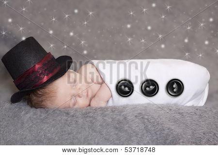 Frosty The Newborn Snowman