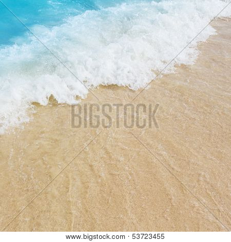 Sea Water And The Beach