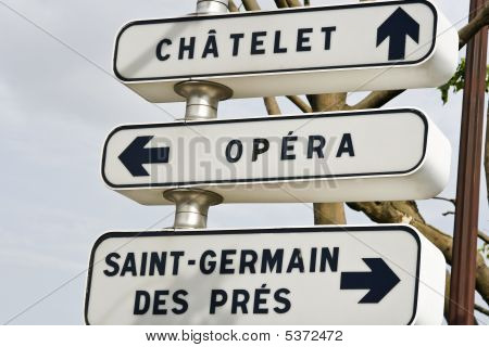Paris Directions To The Opera