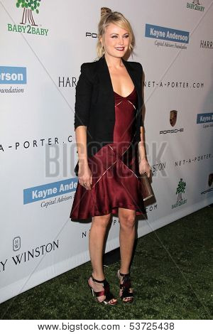 LOS ANGELES - NOV 9:  Malin Akerman at the Second Annual Baby2Baby Gala at Book Bindery on November 9, 2013 in Culver City, CA