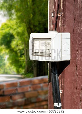 Outdoor Electric Switch