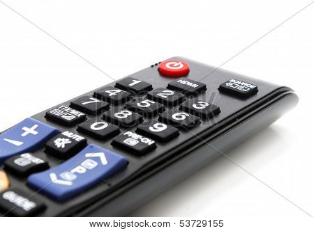 Tv Remote Control Closeup