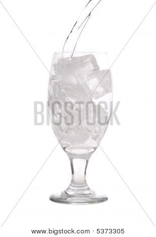 Ice Water Pour