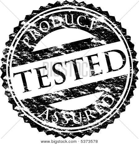 Tested Logo Black