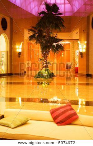 Lobby In A Hotel