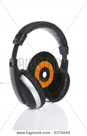 Cd And Headphones