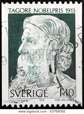 Tagore Stamp