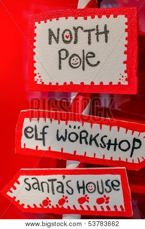 Christmas Signboards