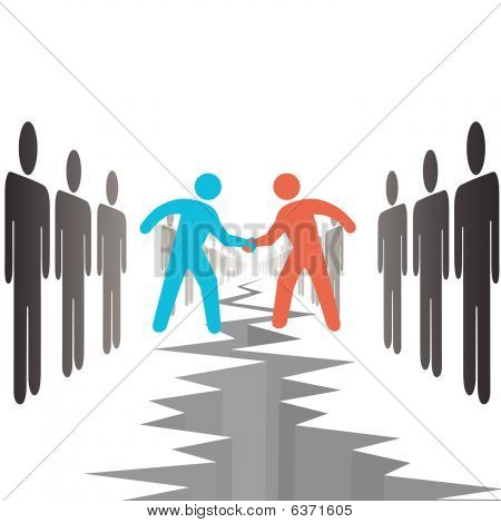 People On Sides Settle Agreement Deal