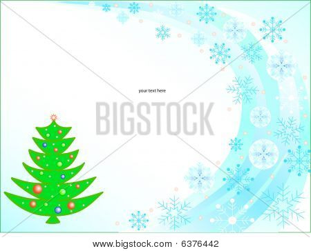 Christmas Tree With Text