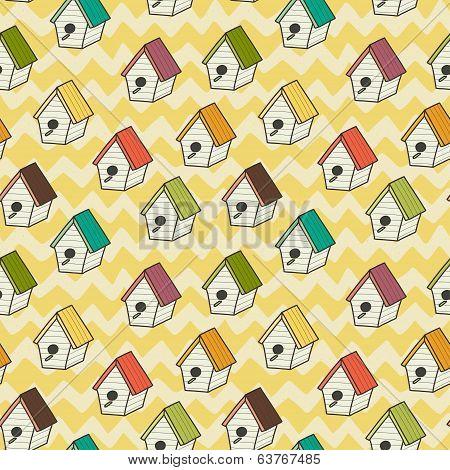 Birdhouses pattern