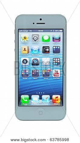 Iphone 5 With Retina Display