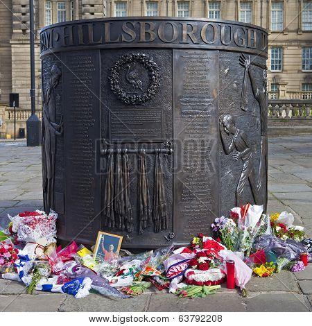 Hillsborough Disaster Memorial