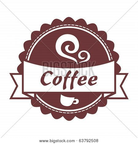 Coffee vintage label.