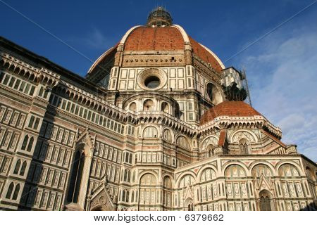 Italy. Florence. Duomo Dome.
