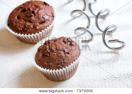 Muffin Cake Chocolate Sweet Dessert