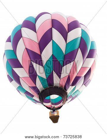 Hot Air Balloon Isolated