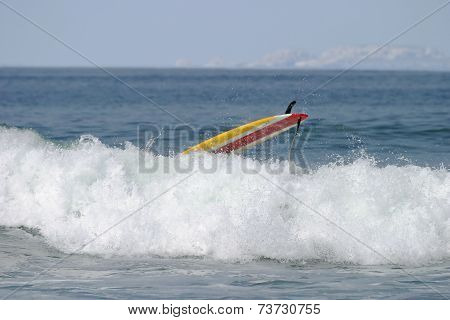 Yellow Surfboard Disaster