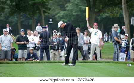 Tiger Woods At The 2009 Us Open