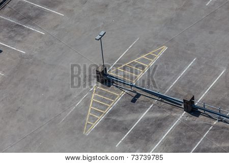 Space Parking Lot From Above