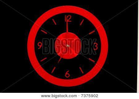 Beautiful Clock On The Wall