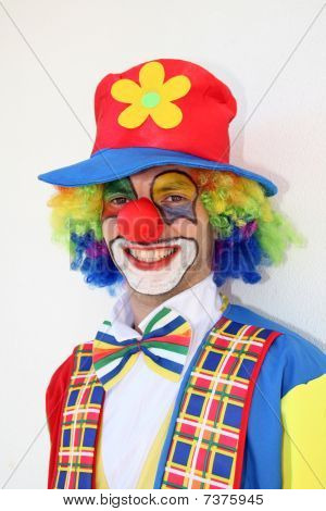 Happy Crazy Clown