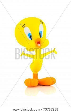 Tweety Bird figure toy character form Looney Tunes