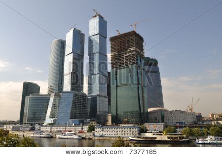 Skyscrapers In Moscow