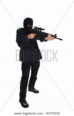 Terrorist with Assault Rifle