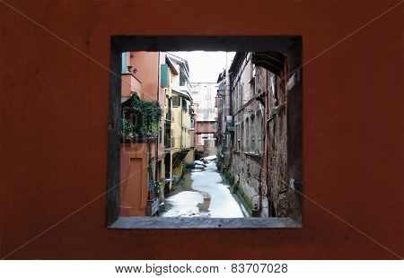 Moline Canal In Bologna