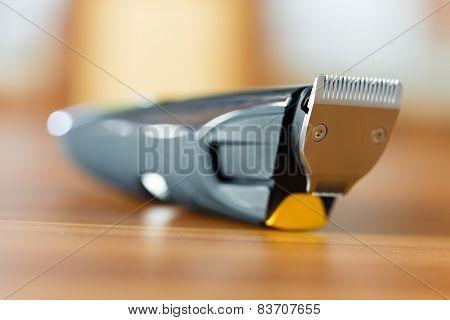 Close-up Of Beard Trimmer