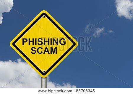 Phishing Scam Warning Sign