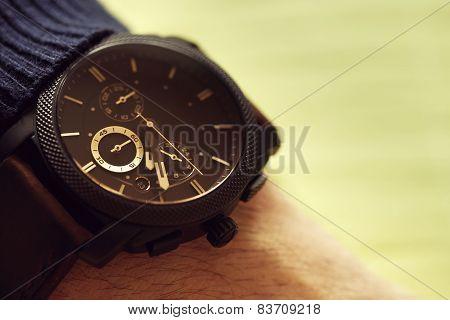 Elegant Casual Watch On Hand