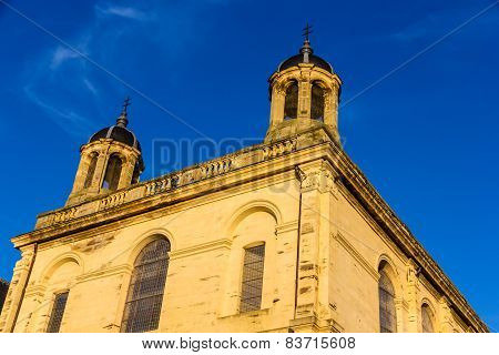 Church At The Castle Of Luneville - Lorraine, France