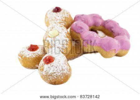 Doughnut Trio And Doughnut Ring