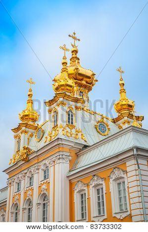 Church Of St. Peter And Paul In Peterhof, St. Petersburg